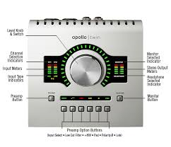 UA Apollo Twin Preamp